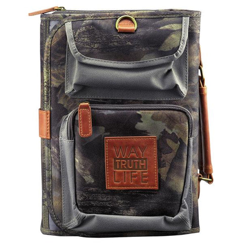 Tri-Fold Mossy Oak Camo Bible Cover