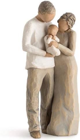 Willow Tree We are Three, Sculpted Hand-Painted Figure