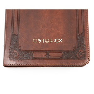 Personalized NKJV Study Bible Leathersoft Red