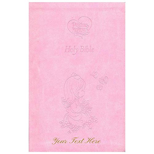 Personalized ICB Precious Moments Holy Bible Leathersoft Pink