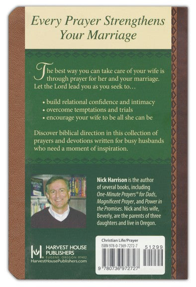 Personalized Devotional One-Minute Prayers for Husbands