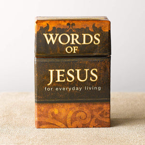 Words of Jesus Cards, A Box of Blessings