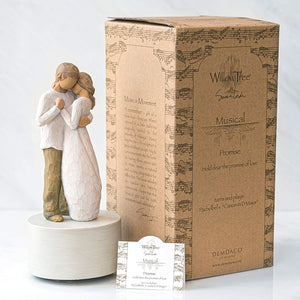 Willow Tree Promise Musical, Sculpted Hand-Painted Musical Figure