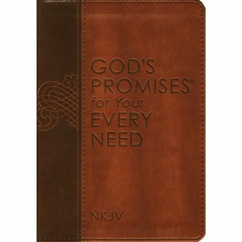 NKJV God's Promises For Your Every Need Leather