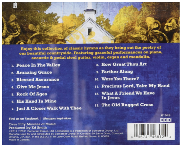 How Great Thou Art Country Hymns CD