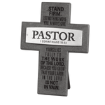 Pastor Badge Of Faith Cross