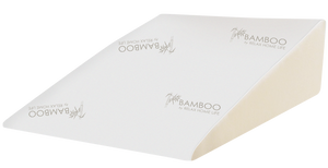 "Relax Home Life - Foam Bed Wedge Bamboo Pillow With 1.5"" Memory Foam Topper and Stay Cool Removable Cover (30.5""W x 33""L x 12""H)"