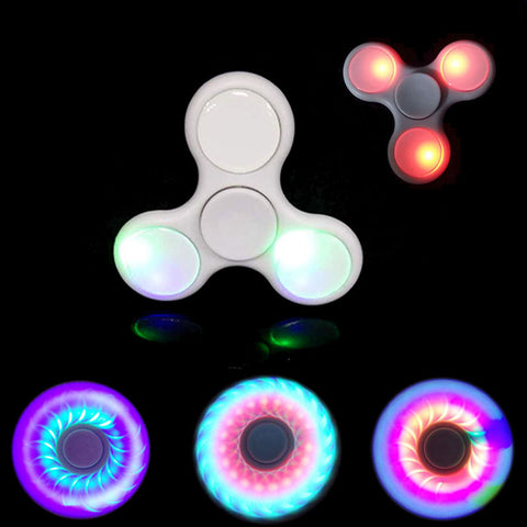 LED Fidget Tri-Spinner
