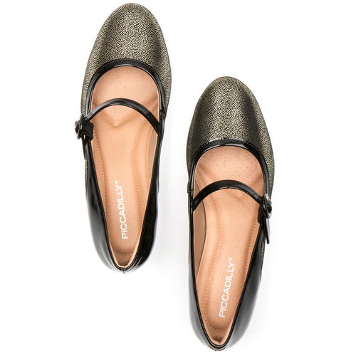 Piccadilly 141073-977 Women Low Heel Mary Jane