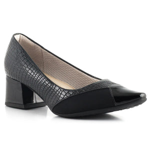 Piccadilly Ref: 744055 Women Maxitherapy Shoes Stretch in Black