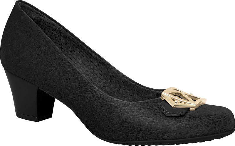 Piccadilly 111064-1068 Women Business Mid Heel Black