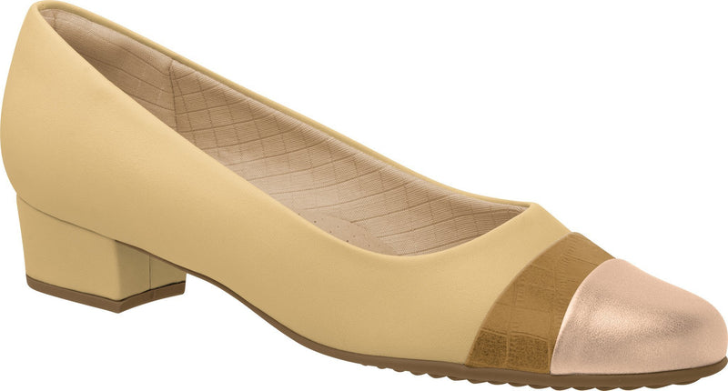 Piccadilly 140095-932 Women Business Shoe Low Heel Nude