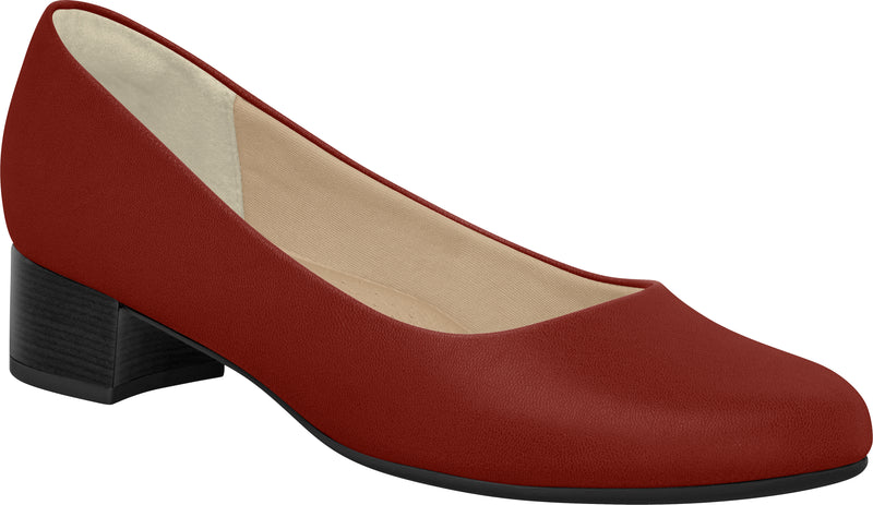 Piccadilly Ref: 140072 Merlot Flight Attendant Crew Shoes For Emirates Uniform.