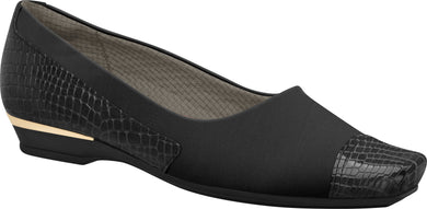 Ref: 147090-1147 Women Ballet Shoe With A Little Wedge