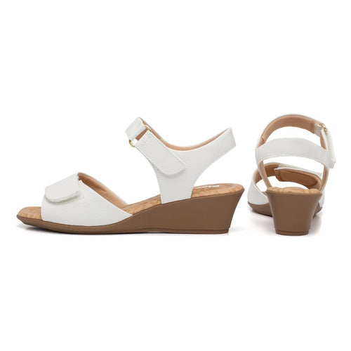Piccadilly 153004-920 Women Sandal Velcro White