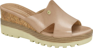 Ramarim 1814201 Women Comfortable Slipper Platform in Nude