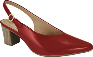 Ramarim 1881401 Women Fashion Comfortable Slingback Shoe in Red