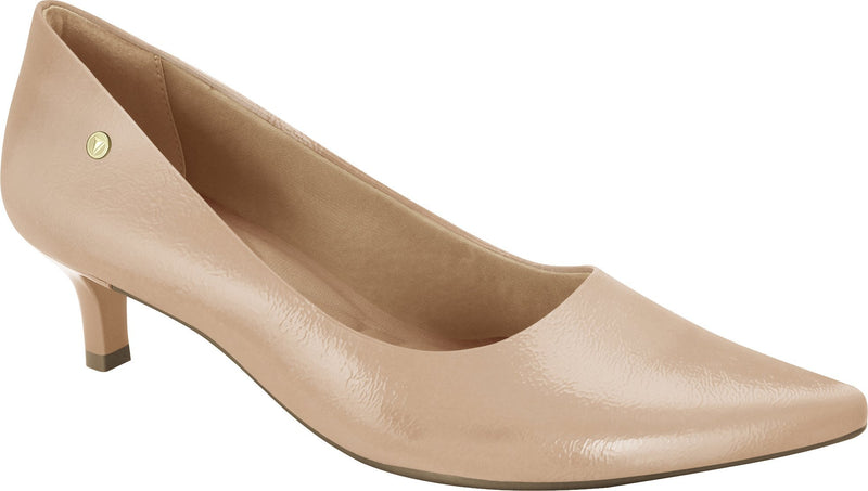 Ramarim 1886202 Women Fashion Comfortable Business Special Occasion Shoe Mid Heel in Nude