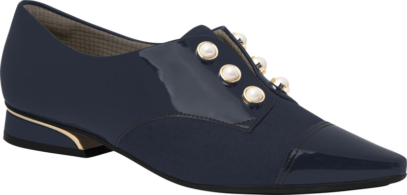 Piccadilly Ref 278003 Women Moccasin Oxford in Navy