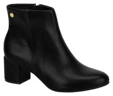 Women Fashion Comfortable Ankle Boot Mid Heel in Black Modare 3067.100