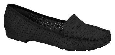 Beira Rio 4121.300-1245 Women Flat Moccasin in Black