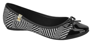 Beira Rio 4135.243-1276 Women Ballet Flat in Multi Black