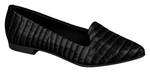 Beira Rio 4136.125-1238 Women Flat Moccasin in Black