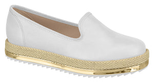 Beira Rio 4196.600 Women Fashion Loafer in White