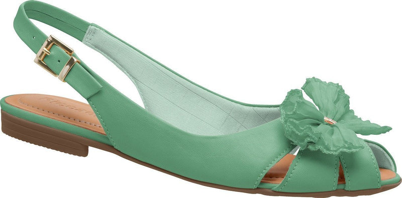 Piccadilly 509018-338 Women Comfortable Flat Sandal Green