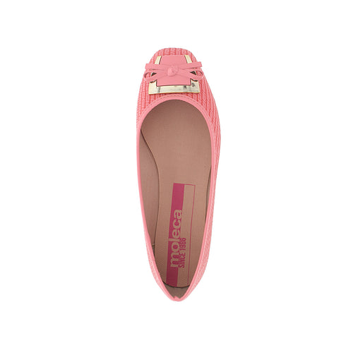 Moleca 5255.635 Women Fashion Flats in Coral Neo