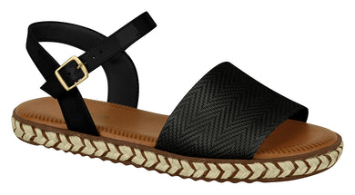 Moleca 5413.615 Women Fashion Flat Sandals in Black