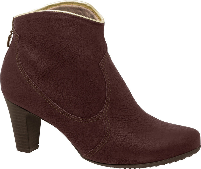 Piccadilly 640046-177 Women Ankle Boot Burgundy