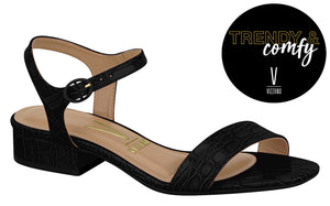 Vizzano 6412.100 Women Brazilian Classic Sandals in Black