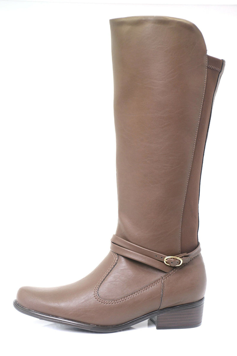 Piccadilly 650029-152 Women Long Boot Brown