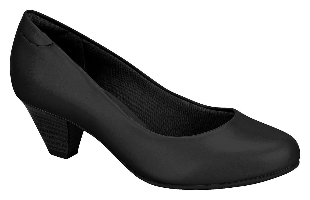 Beira Rio 7005.500-1267 Women Fashion Business Flight Attendant Crew Shoes in Black