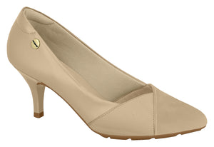Beira Rio 7013.643 Women Fashion Business Classic Scarpin Shoes in Nude
