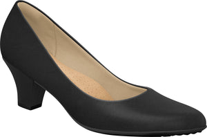 Piccadilly 703001 Women Fashion Business Classic Mid Heel in Black