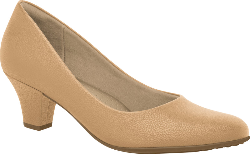 Piccadilly 703001 Women Fashion Business Classic Mid Heel in Nude