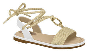 Modare 7139.103 Women Fashion Sandal in White Beige