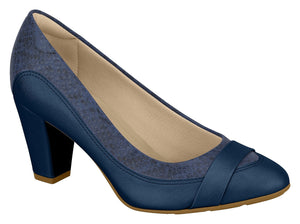 Modare 7305.129 Women Fashion Comfortable Innersole Shoe in Navy