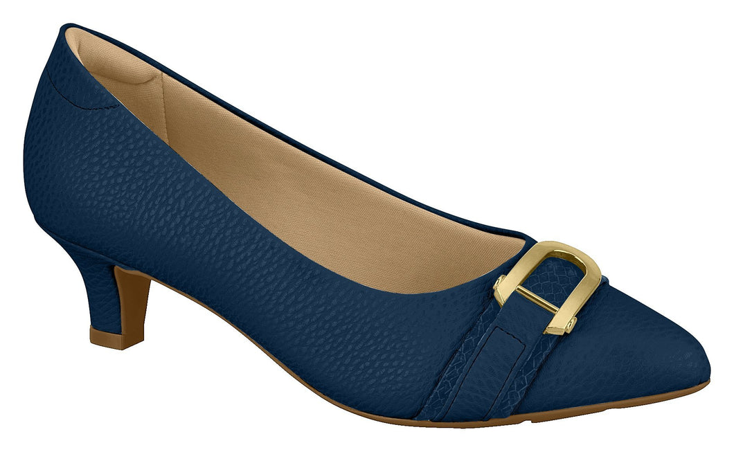 Modare 7314.104 Women Fashion Comfortable Business Shoe Mid Heel in Navy