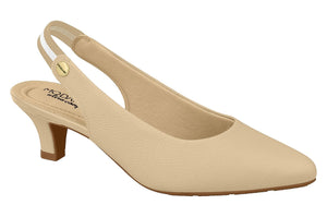 Beira Rio 7314.109-1316 Women Fashion Slingback Shoe Comfort in Nude