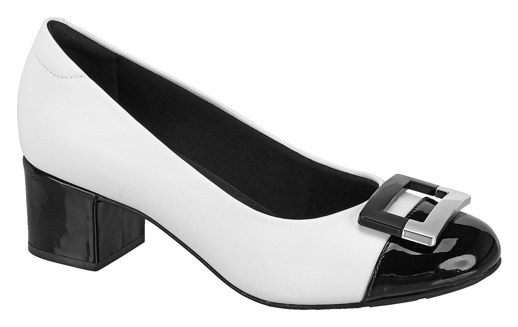 Beira Rio 7316.107-1231 Women Fashion Shoe Comfort in White Black