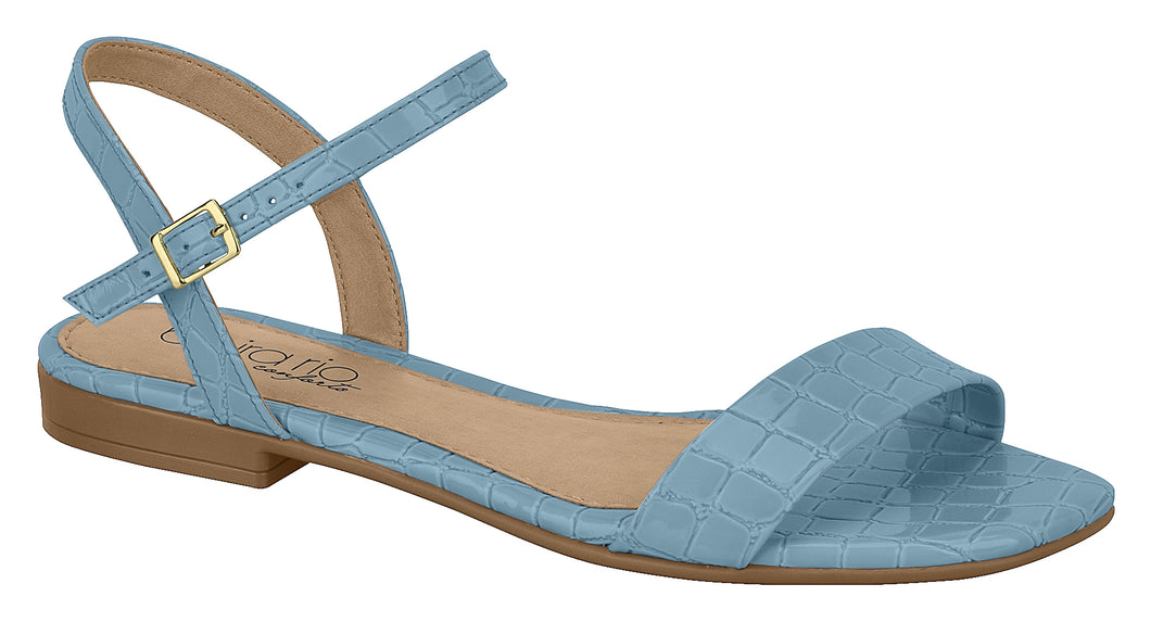 Vizzano 8328.121 Women Brazilian Classic Sandals in Croco Blue