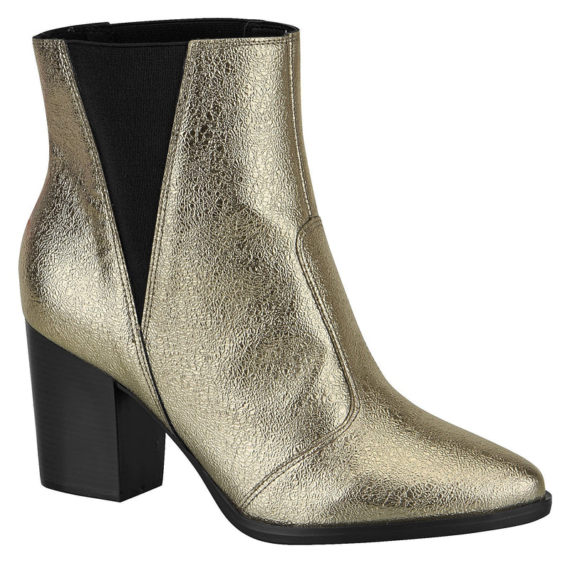 Vizzano 9042.418 Women Fashion Chelsey Comfortable Ankle Boot in Metal