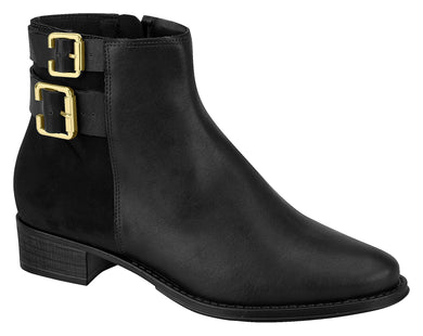 Modare 9045.125 Women Fashion Comfortable Innersole Ankle Boot in Black