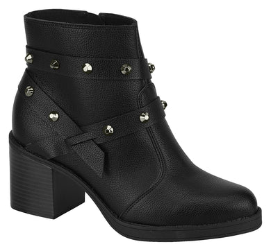 Modare 9065.103 Women Fashion Comfortable Innersole Ankle Boot in Black