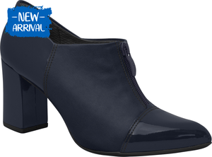 Piccadilly Ref 746003 Women Oxford Ankle Boot Navy