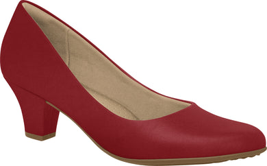 Piccadilly 703001 Women Court Business Shoe in Red