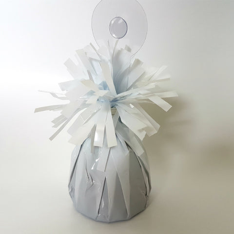 Heavier Foil Balloon Weight - White